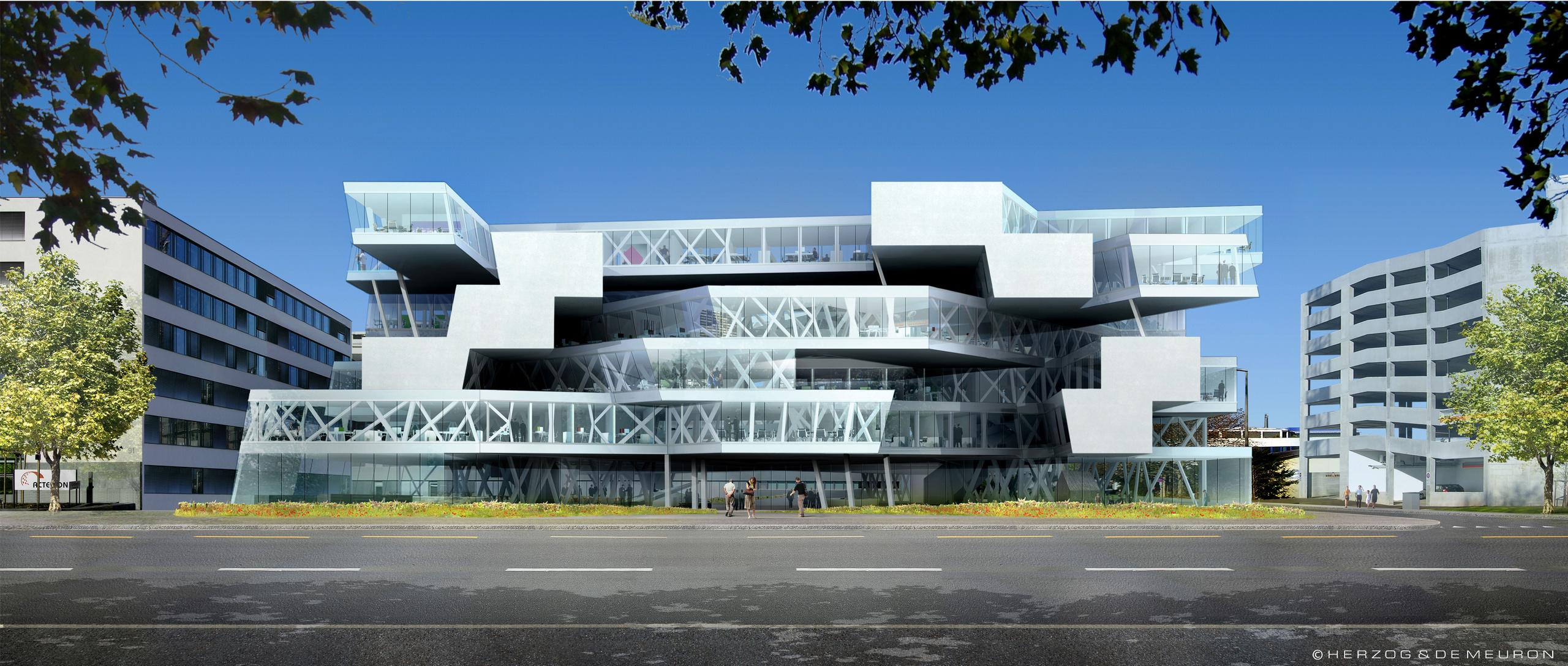 Entrevista jacques herzog docentes libres de mar del plata for Edificios educativos arquitectura